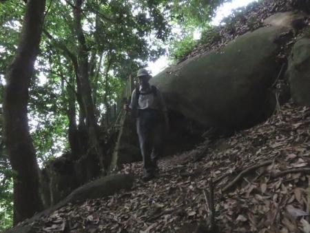 金立山に登る 044