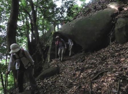 金立山に登る 041