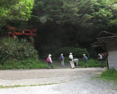 金立山に登る 006