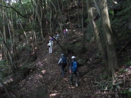 金立山に登る 054