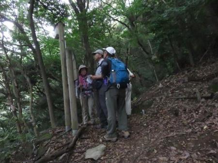 金立山に登る 050