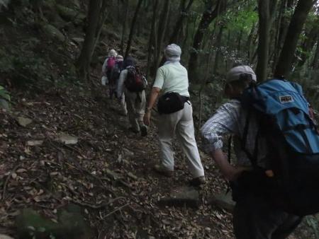 金立山に登る 046