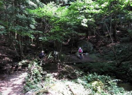 金立山に登る 080