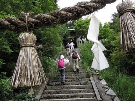 金立山に登る 139