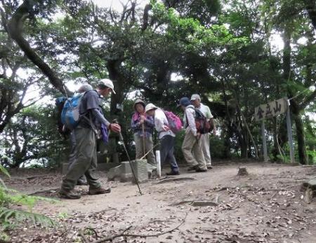 金立山に登る 155