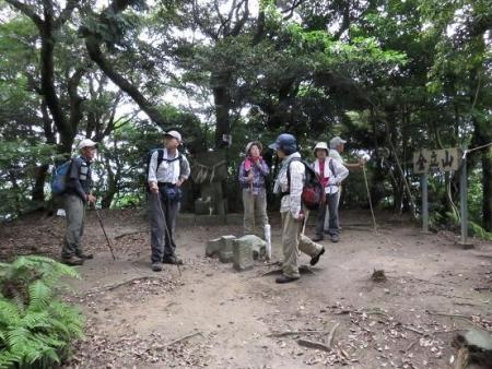 金立山に登る 154