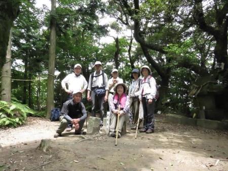 金立山に登る 158
