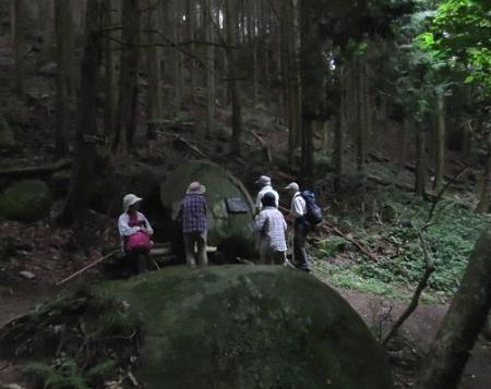 金立山に登る 209
