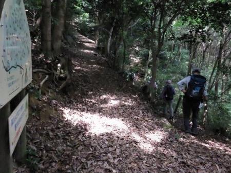 金立山に登る 241