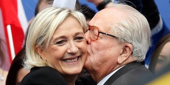 マリーヌ&ジャン=マリー・ルペン