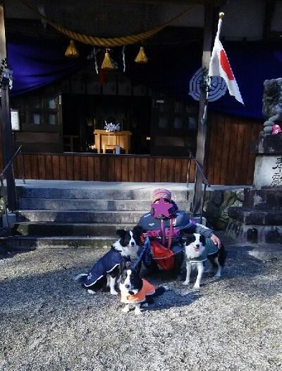 20150102七栗神社初詣