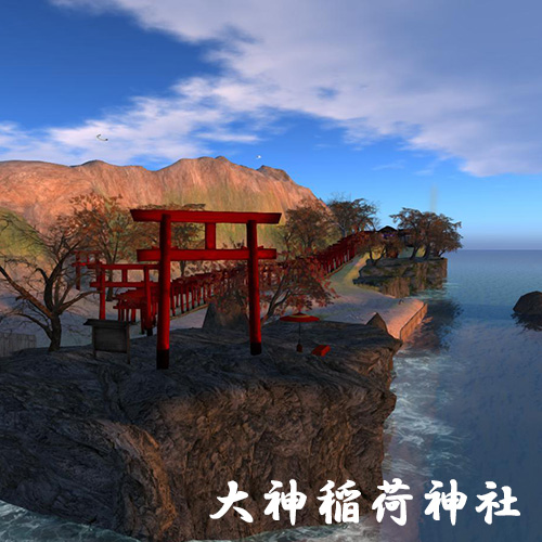 Secondlife 初詣 神社