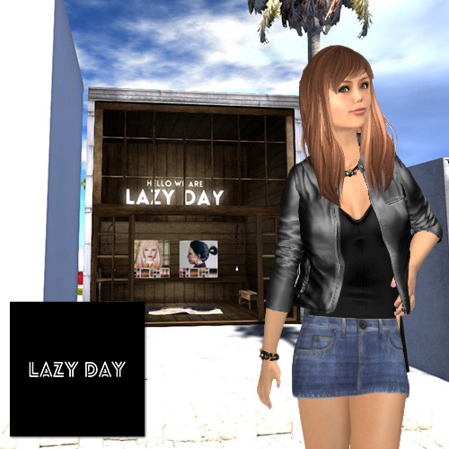Secondlife mesh Hair