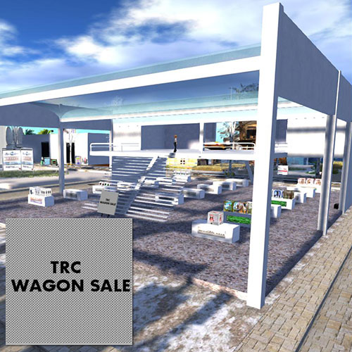 Secondlife TRC WAGON SALE JokeGoods