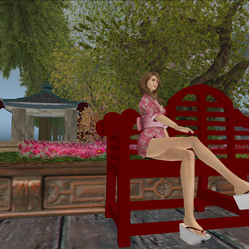 Secondlife Japanese Snapshot