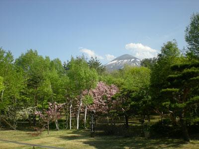 八幡平ハイツ庭