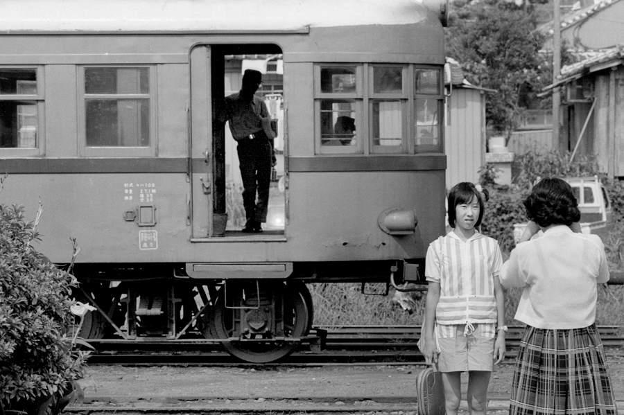 鹿児島交通 加世田 記念撮影 1982年8月 Adobe16bit 原版take1b