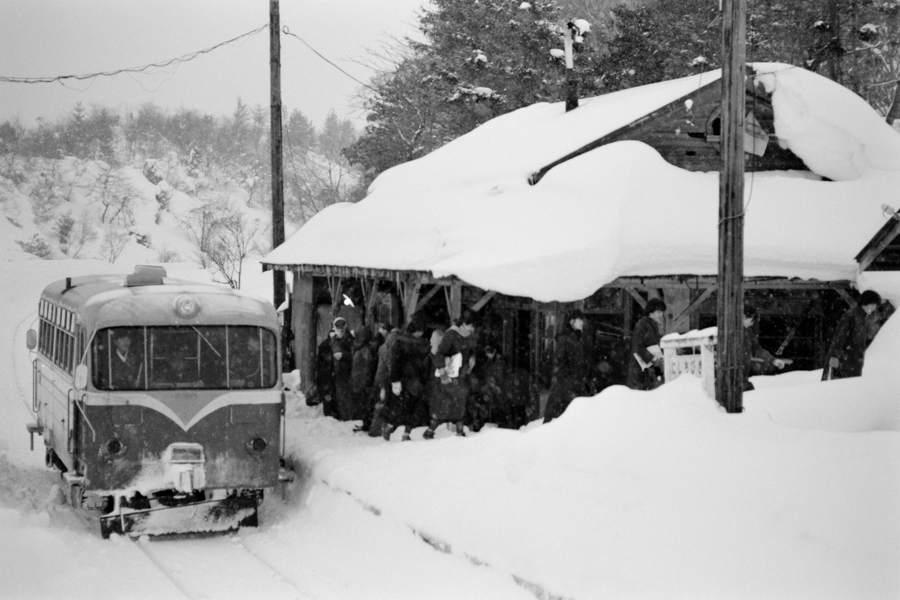 南部縦貫鉄道 雪の西千曳16 1984年1月日 16bitAdobeRGB原版 take1b