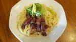 coi.coi 週末限定 漬けホタルイカの和え麺 15.4.25