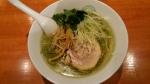 六感堂 塩グリーン麺 15.5.4