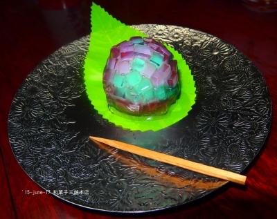 和菓子 紫陽花