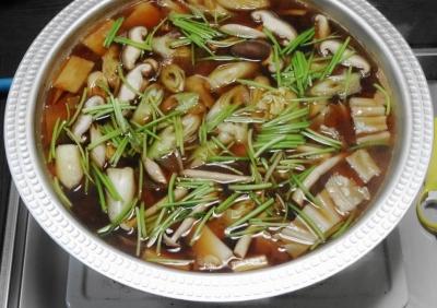 根菜類は先に煮て