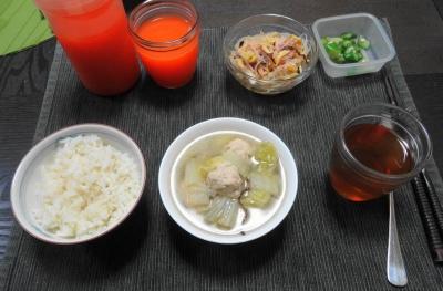 食事療法・中華かな?