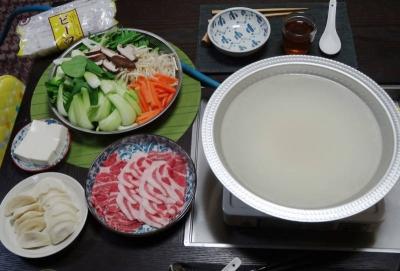 中華風ちゃんこ鍋