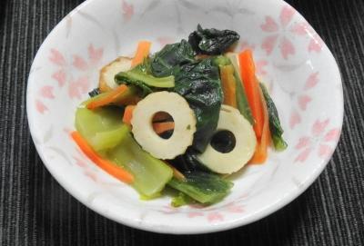 小松菜の炊いたん