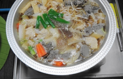 ダブルちゃんこ鍋