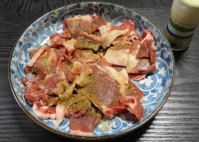 牡丹(猪)のバラ肉