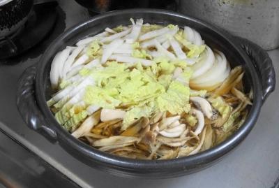 牛蒡他、野菜の煮込み
