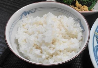七分搗き米のコシヒカリ
