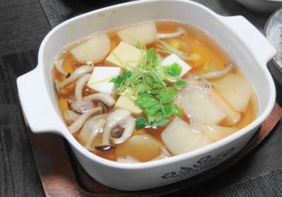 小かぶの野菜鍋