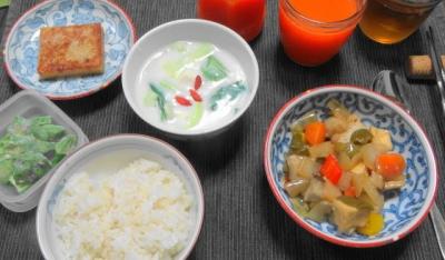 薬膳風 野菜中華ディナー