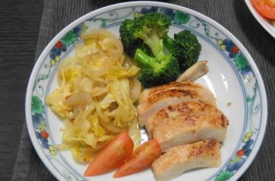 鶏胸肉の和風ステーキ 塩こうじ風味
