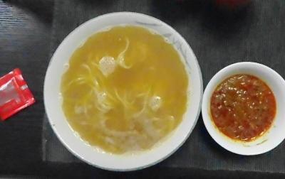 キーマカレー+担々麺セット