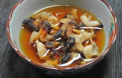 つぶ貝のやわらか煮