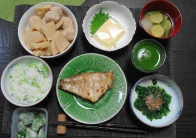 赤魚のマクロビご飯