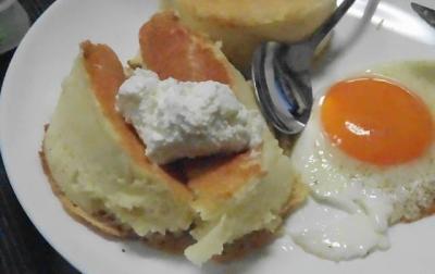 バター代わりの生クリーム