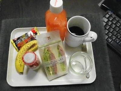 いつもの朝食メニュー