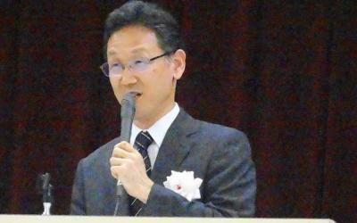 評議員 講話 藤井隆先生