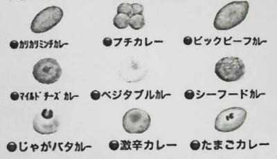 カレーパンの種類