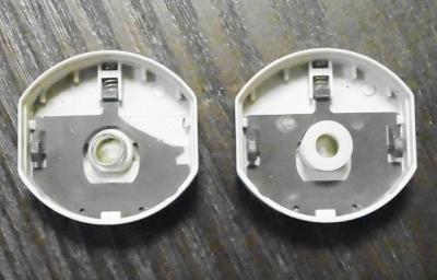 電池キャップの補修・交換