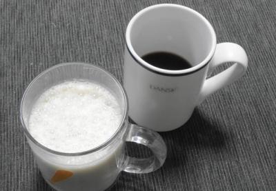 ヨーグルトラッシー & モーニングコーヒー