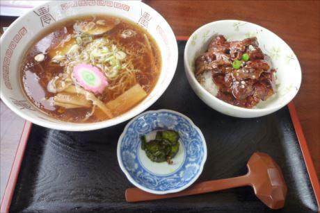 豚丼とラーメンセットinうらほろ亭 (6)_R
