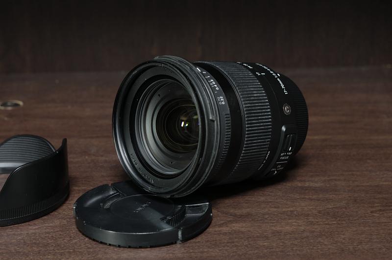 Nikon SIGMA 17-70mm F2.8-4 DC