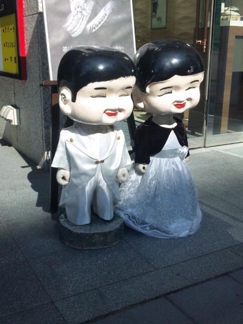 札幌の宝石店の人形 2015.6.18