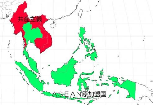 ASEANの原加盟国