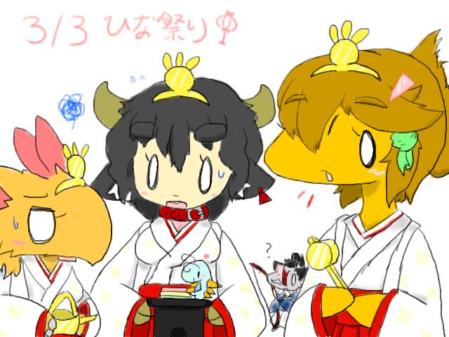 2015年ひな祭り絵